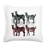 OYOOS Zebra design Square Canvas Pillow