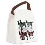 OYOOS Zebra design Canvas Lunch Bag