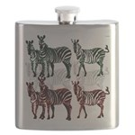 OYOOS Zebra design Flask