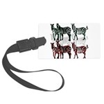 OYOOS Zebra design Large Luggage Tag