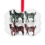 OYOOS Zebra design Picture Ornament