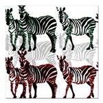 OYOOS Zebra design Square Car Magnet 3
