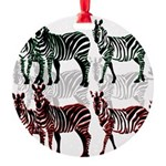 OYOOS Zebra design Round Ornament