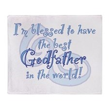 Blessed Godfather BL Throw Blanket