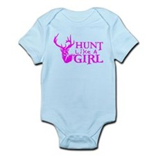 HUNT LIKE A GIRL Infant Bodysuit