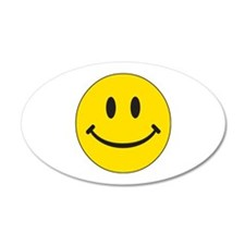 Big Yellow Happy Face Wall Decal