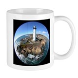 Pigeon Point Lighthouse Kite Aerial Fish-eye Mug