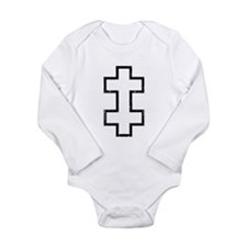 Lithuania Roundel Long Sleeve Infant Bodysuit