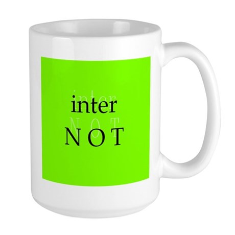 Internot Large Mug