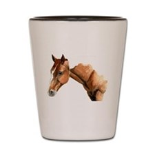 Horse-Brown Shot Glass
