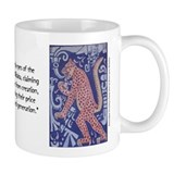 Jaguar Consuming Human Heart Mug