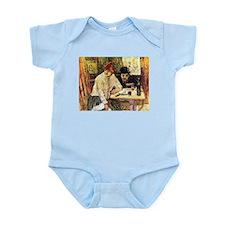 Toulouse-Lautrec Restaurant Infant Bodysuit