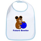 Future Bowler in Blue Bib