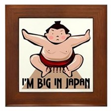 I'm Big In Japan Framed Tile