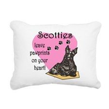 scotties pawprints new.png Rectangular Canvas Pill