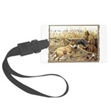 CHESSIE HUNTING SCENE.jpg Luggage Tag