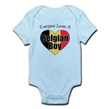 Everyone Loves Belgian Boy Infant Bodysuit