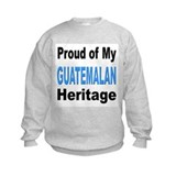 Proud Guatemalan Heritage (Front) Sweatshirt