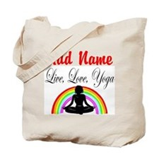 I LOVE YOGA Tote Bag