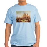 George Catlin Sioux War Council T-Shirt
