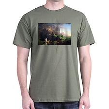 Thomas Cole Voyage Of Life - Childhood T-Shirt