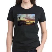 Frederic Edwin Church A Sunset Tee