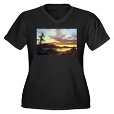 Frederic Edwin Church A Sunset Women's Plus Size V
