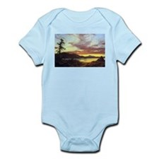 Frederic Edwin Church A Sunset Infant Bodysuit