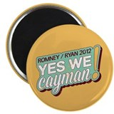 "Yes We Cayman! 2.25"" Magnet (100 pack)"