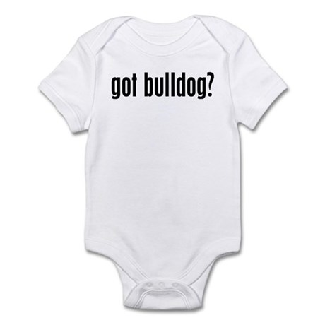 Got Bulldog? Infant Creeper