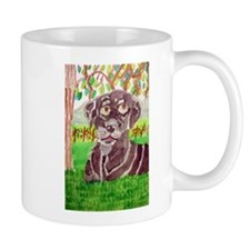 Chocolate Labrador by Jocelyn Triggle Mug
