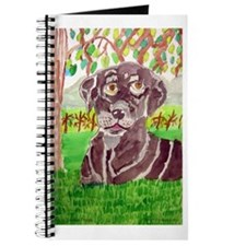 Chocolate Labrador by Jocelyn Triggle Journal