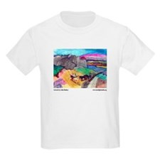 John Budney, landscape. Kids Light T-Shirt