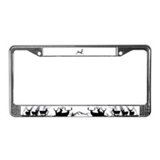 Whitetail shadow License Plate Frame