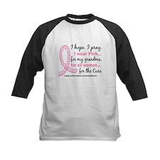 Hope Pray Wear Pink Breast Cancer Tee
