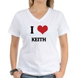 I Love Keith Ash Grey T-Shirt Shirt