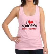 I heart Coaching C-C Racerback Tank Top