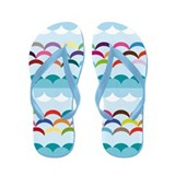 Between sky and sea Flip Flops