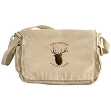 Wyoming Attitude Messenger Bag