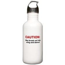 CAUTION: Sports Water Bottle