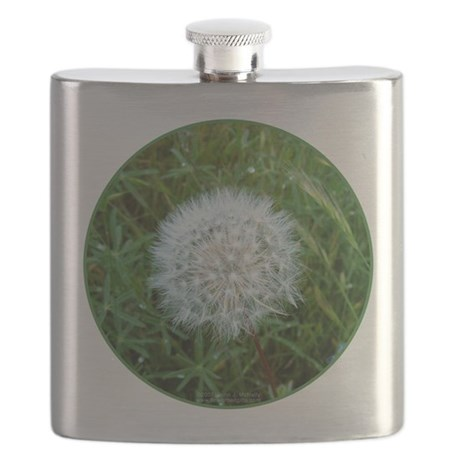 Dandelion Seed Head Flask