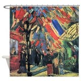 Van Gogh 14 July In Paris Shower Curtain