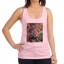 Van Gogh 14 July In Paris Racerback Tank Top