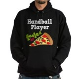 Handball Player Pizza Hoodie