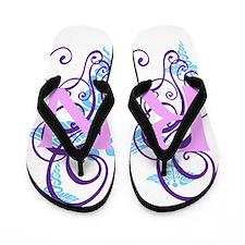 RN swirl Flip Flops