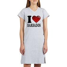 I Heart Barbados Women's Nightshirt
