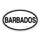 Barbados Decal