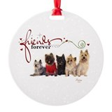 Cairn Terriers Ornament