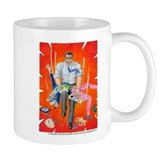 Romney breaking Uncle Sam's back/Coffee Small Mug