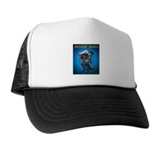 Chace Lobleys Shark man. Trucker Hat